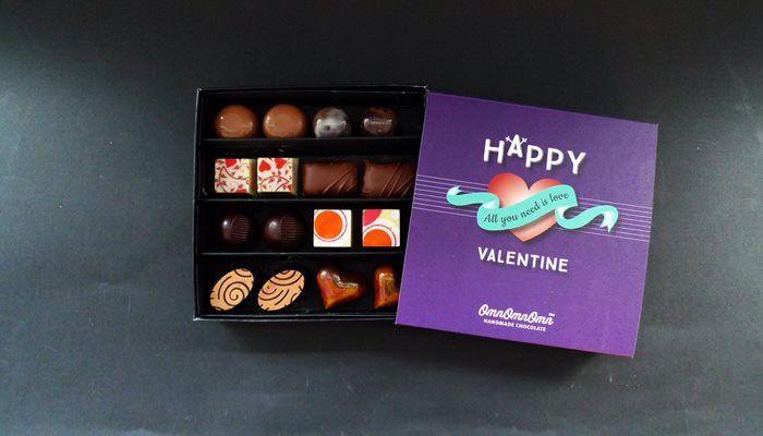 My Valentine chocolate box