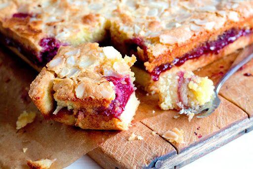 Bakewell taart met frambozen | dooreten