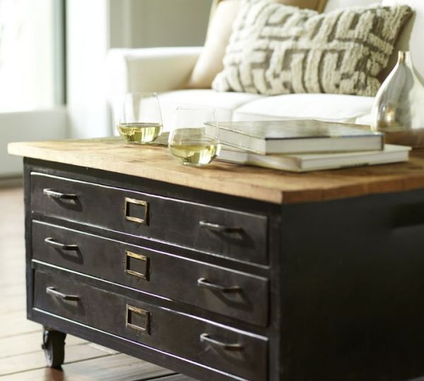 Map Drawer Coffee Table: 1000+ Ideas About Flat File Cabinet On Pinterest