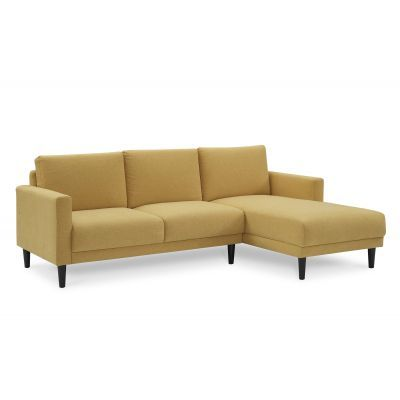 Lucca Sectional Sofa In Yellow Fabric Furniture And Decor Exchange | Your  Source To Buy And Sell Luxury Furniture And Decor Online In The UAE | FDXu2026