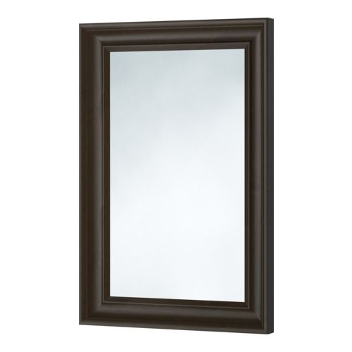 HEMNES Mirror, black-brown black-brown 23 5/8x35 3/8 | this will go in between the door and the ladder of the loft bed. Itll match the black shelves above the desk and loft bed