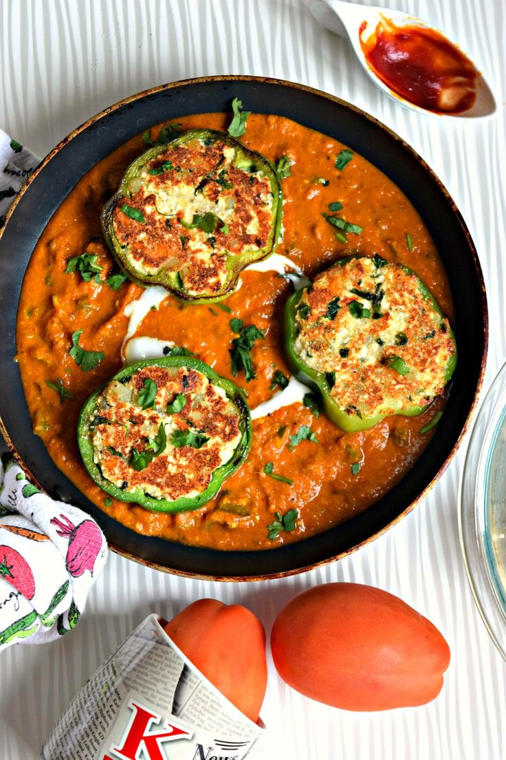 Chilly Paneer in Tomato Capsicum GravyCurries