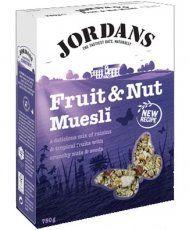 Jordans Special Fruit & Nut Muesli 750g - http://sleepychef.com/jordans-special-fruit-nut-muesli-750g/