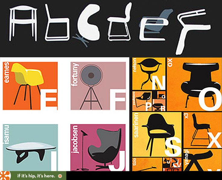 classic chairs as alphabet tim limited edition typeseat screen print and chair alphabet prints