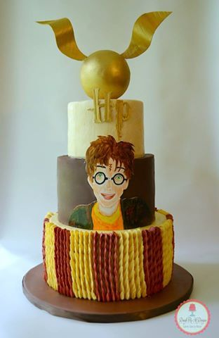 Harry Potter themed birthday!