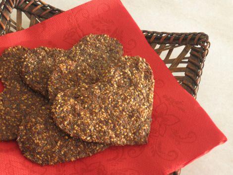 Tunna frökex med smak av pepparkaka/LCHF-pepparkakor