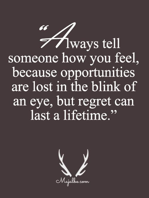 25+ Best Regret Quotes On Pinterest