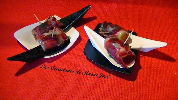 Las Creaciones de María José: PINTXO DE PLÁTANO, PALETA IBERICA Y BALSÁMICO DE M... http://mariajoseysuscreaciones.blogspot.com.es/2014/04/pintxo-de-platano-paleta-iberica-y.html