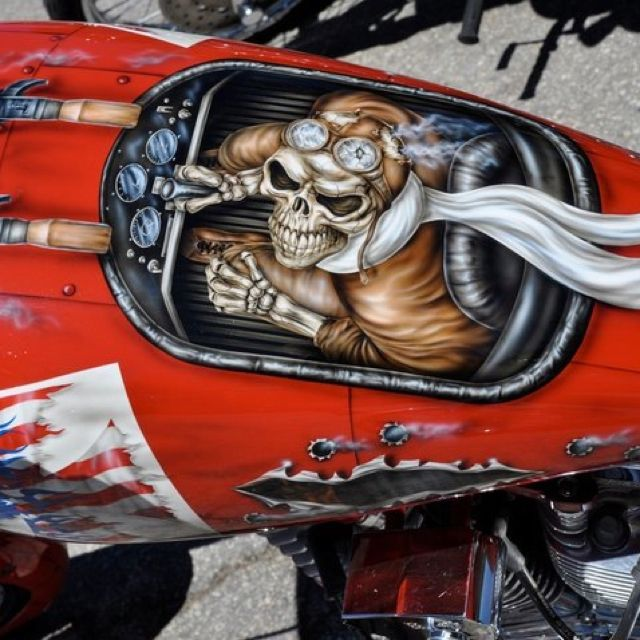 Tank airbrush art                                                                                                                                                                                 Mais