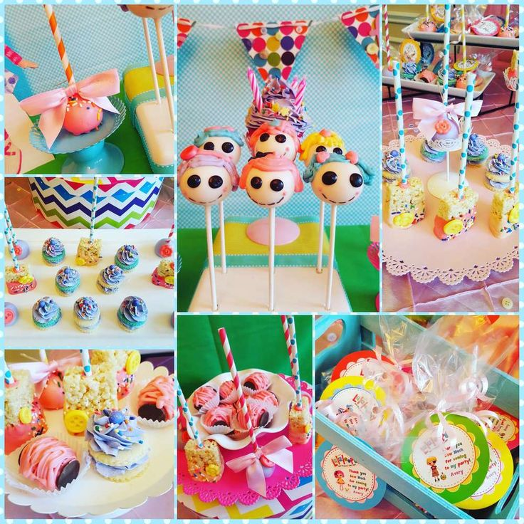 Pictures Of Birthday Cake Pops