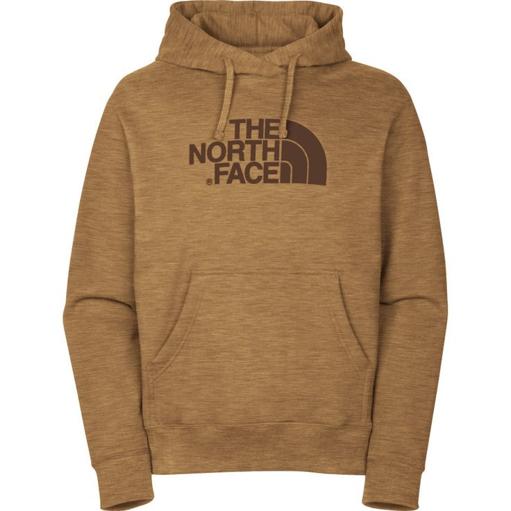 Brown north face hoodie