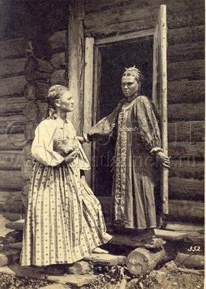 Тульская губерния |крестьянки Тульской губернии