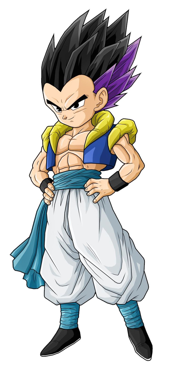 Super Saiyajin - Dragon Ball Wiki, Gotenks Base.jpg