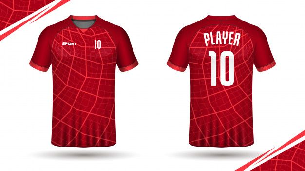 Soccer Jersey Template Sport T Shirt Design In 2020 Sports Tshirt Designs Sport T Shirt Soccer Jersey