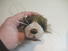 Teddy Bears Tutorials: Eye area - airbrushing, placement and sculpting the eyes
