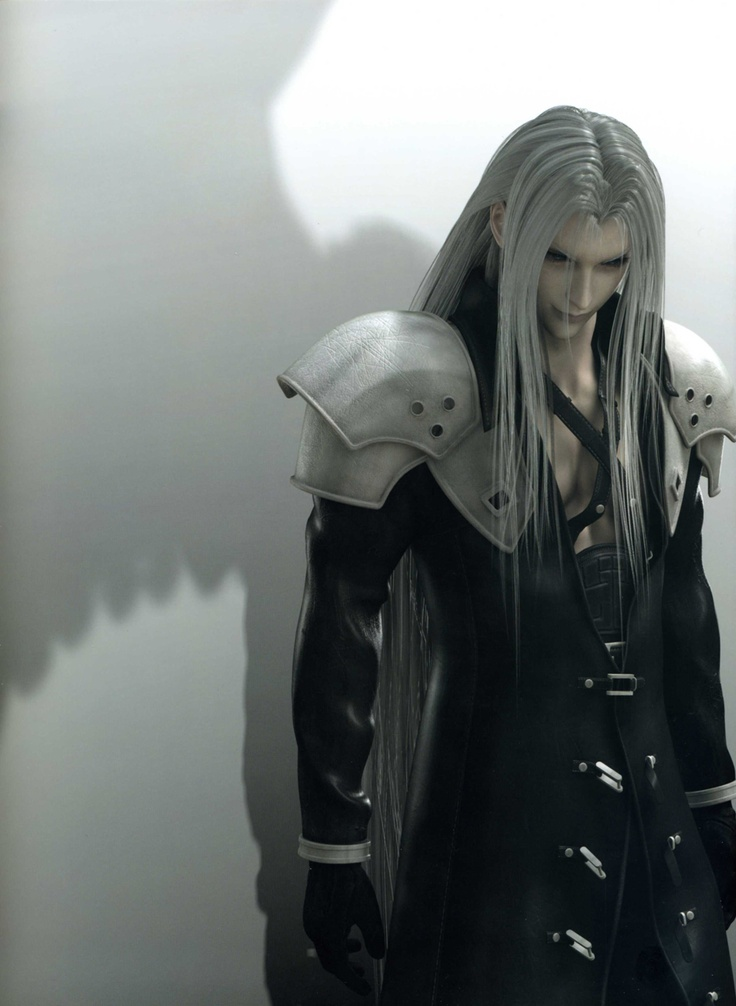 Sephiroth- the one winged angel. This man was so ruthless and was ...