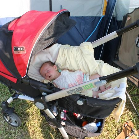 Camping with Toddlers and Newborns 101