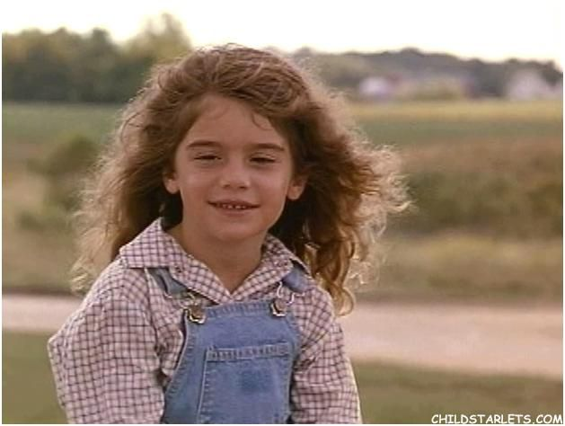Gaby Hoffmann - Field of Dreams | Before and After | Pinterest