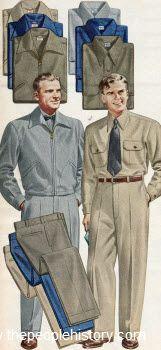 Hercules Stevens Twist Twill Outfit 1951