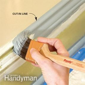 Use this cutting in technique to make chipped, flaking or dirty moldings look like new!