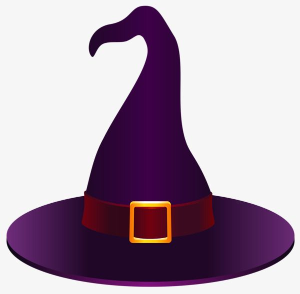 Purple Witch Hat Halloween Creative Witch Hat Witch Pictures Creative Halloween