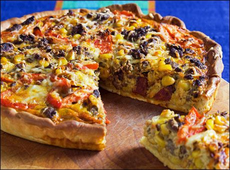 Meksikansk pizza-pai