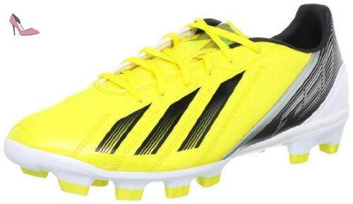 adidas Performance  F10 TRX HG, Chaussures de football homme - Jaune - Gelb (VIVID YELLOW S13 / BLACK 1 / GREEN ZEST S13), 45 1/3 EU - Chaussures adidas (*Partner-Link)