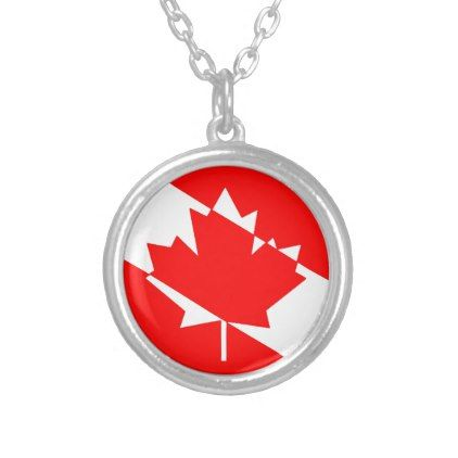 Filled White Dive Canada Silver Plated Necklace - jewelry jewellery unique special diy gift present