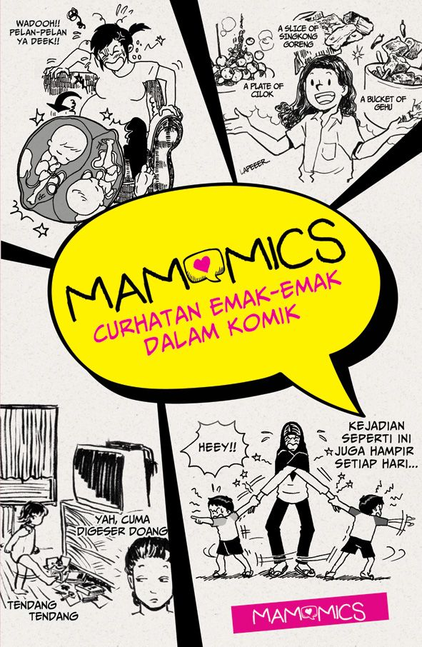 Mamomics: Curhatan Emak-Emak dalam Komik.