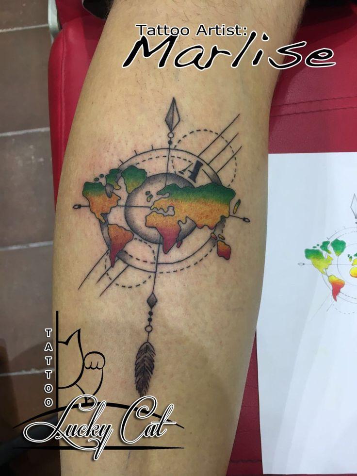 Reggae wereld Lucky Cat Tattoo | 's-Hertogenbosch