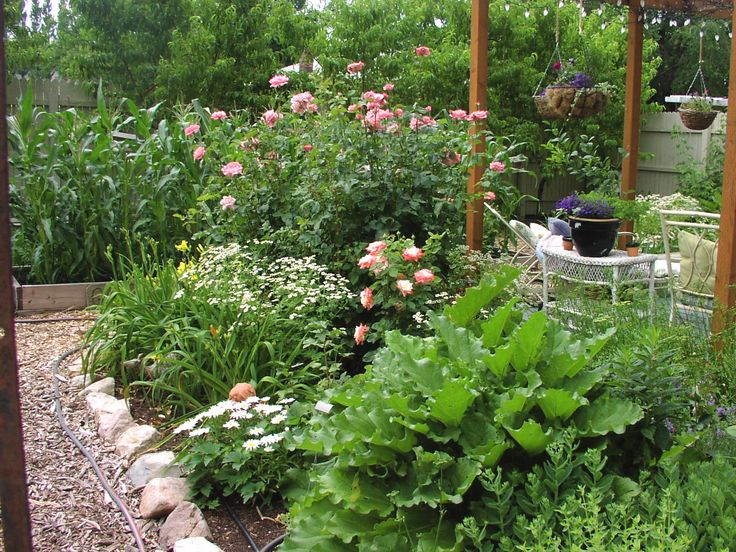 Beautiful Vegetable And Flower Garden Ideas Part - 10: Picket Fence Landscape Ideas   How To Garden, How To Landscape, How To Make  A Garden, Landscape ...   Gardening   Pinterest   Perennials, Fence  Landscaping ...