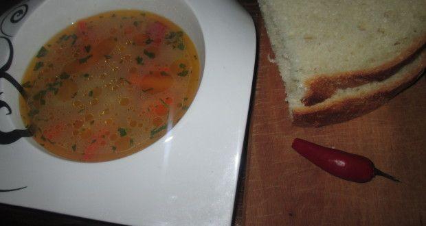 Supa cu piept de pui si legume
