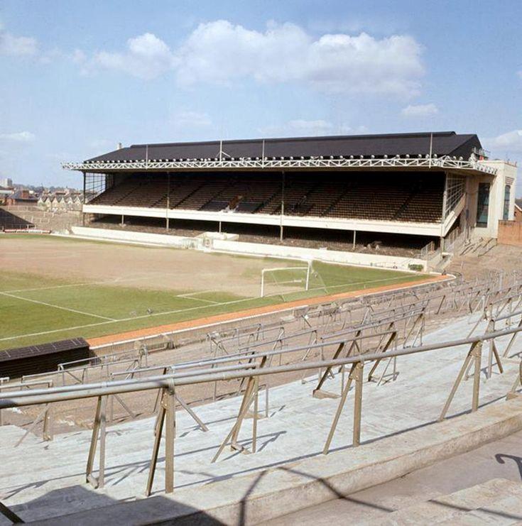 Highbury: Home of Arsenal in may 1966. #Arsenal #Gunners #Highbury