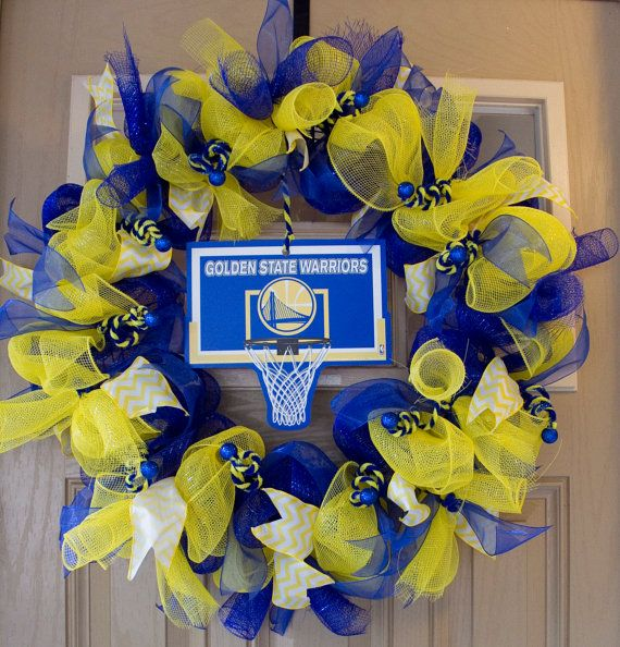 Go Golden State Warriors Wreath!