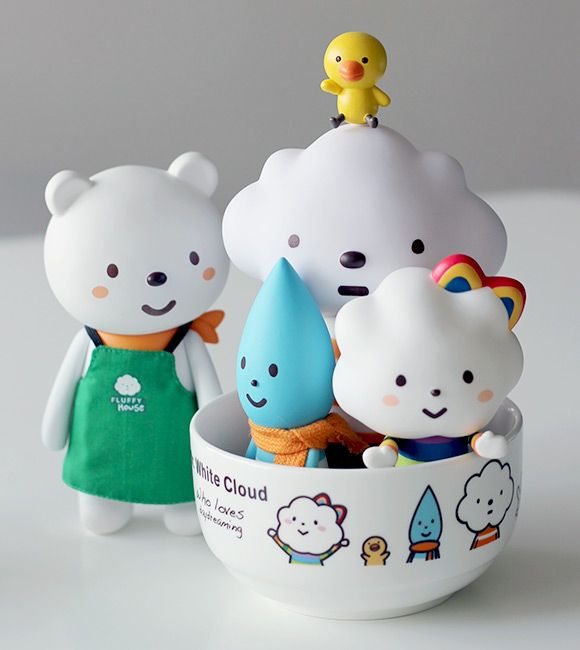 Fluffy House - Cute Vinyl Toy