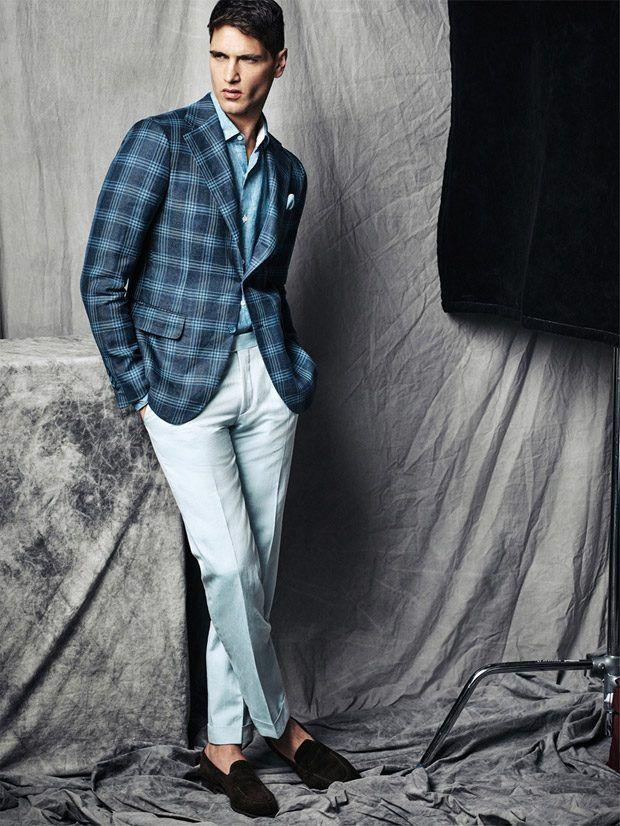 Fabio Mancini Models Belvest Spring Summer 2017 Collection