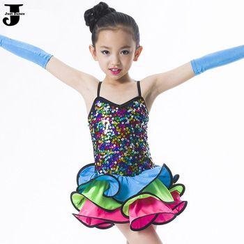 US $29.07 / piece  2015 Latin Dance Dress For Girls Cha Cha/Rumba/Samba/Ballet Dress For Dancing Children Party Dress Kids Latin Dresses