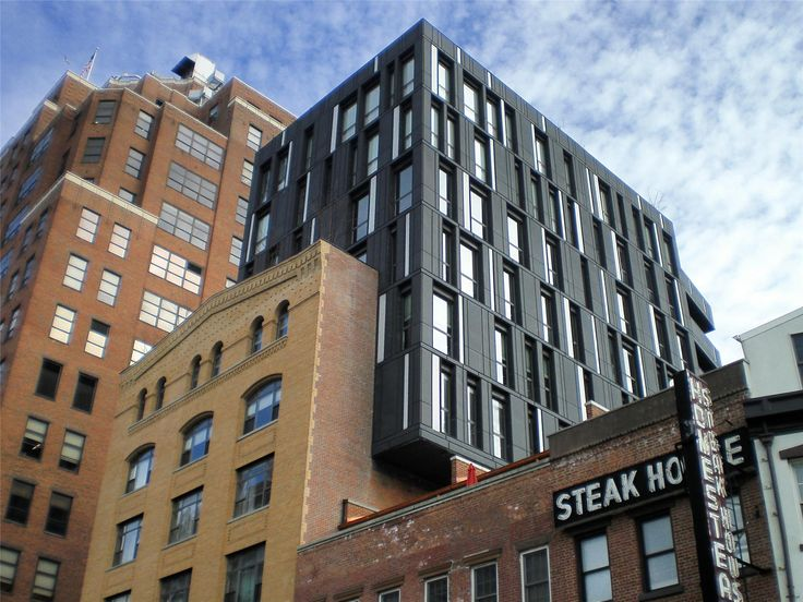 Porter house zinc facade in nyc by shop architects for Architecture zinc