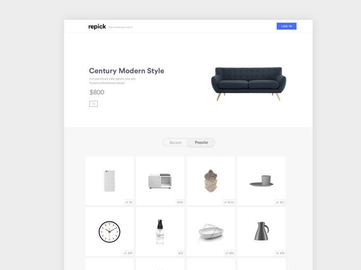 Repick.co Website
