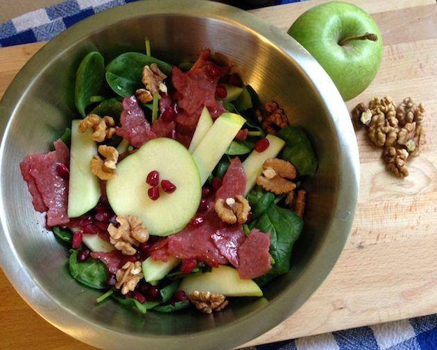 Eğlenceli ve sağlıklı tarifler: Bak Yeşil Yeşil Salatası