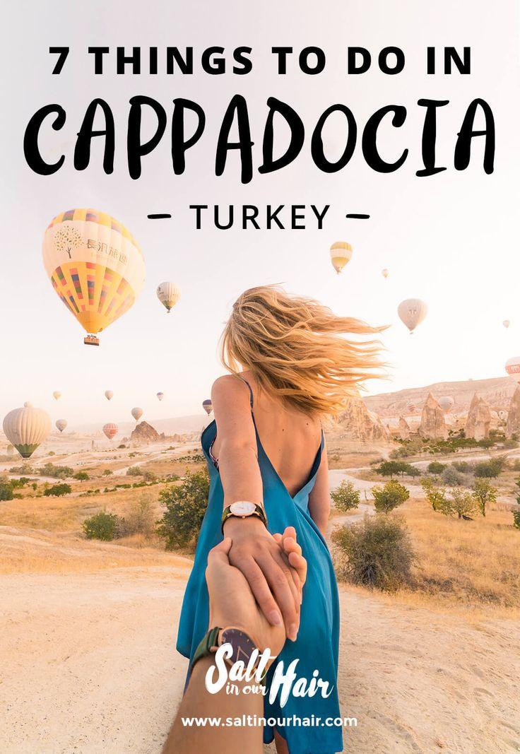 7 things to do in Cappadocia, Turkey #turkey #cappadocia #goreme #balloons