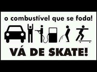 Fuck gasoline! Go skateboard.