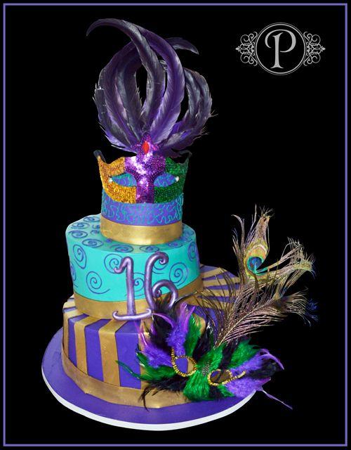 Masquerade Ball Sweet  Cakes