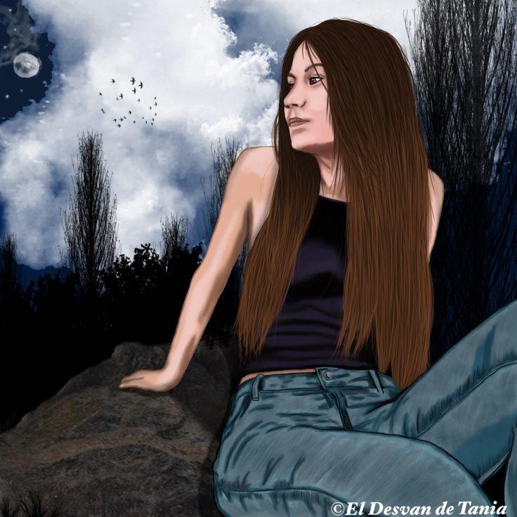 Retrato digital Sandra! @eldesvandetania