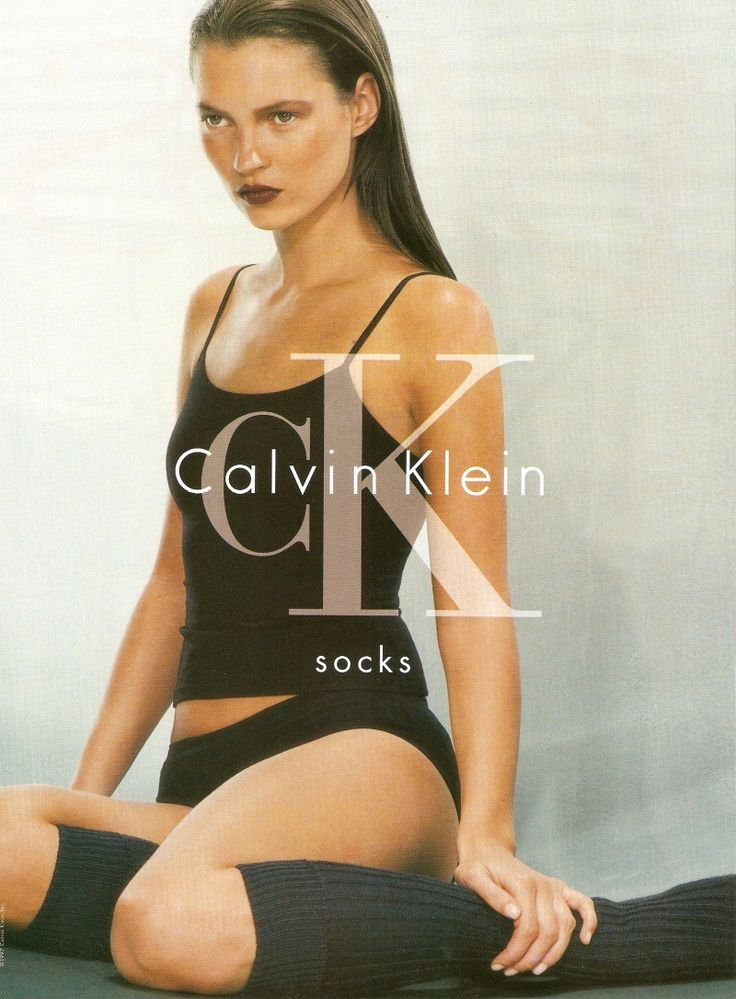 CK Calvin Klein 1997 - Kate Moss