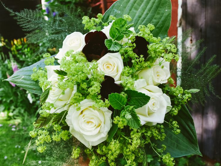 Flowers by Remne Blomsterdesign Wedding bouqet