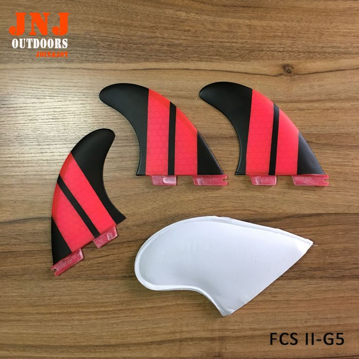 China best quality fiberglass honeycomb standard surfboard fins FCS II G5 M fins 3pcs a set surf table thruster fcs2 #Affiliate