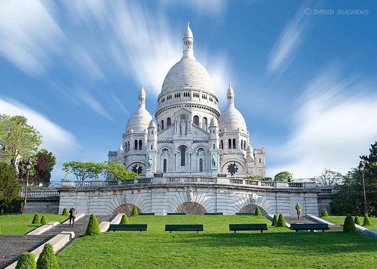 The Sacred Heart Basilica in Paris by David Duchens on 500px