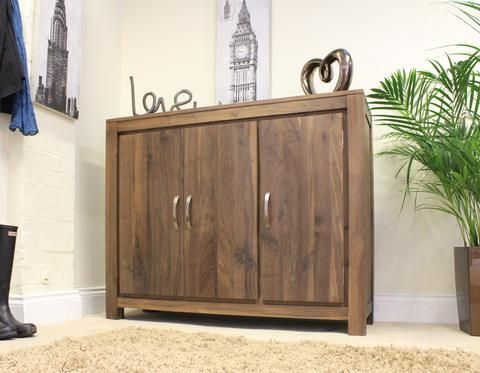 strathmore solid walnut furniture shoe cupboard cabinet. Mayan Walnut Extra Large Shoe Cupboard Strathmore Solid Furniture Cabinet U