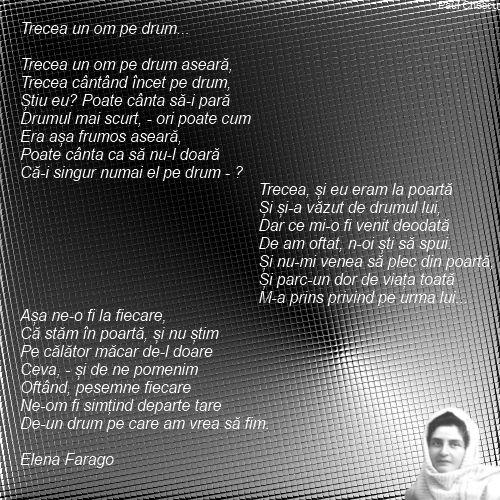 Trecea un om -Elena Farago